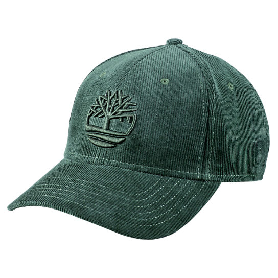 Men Timberland Corduroy Tree Logo Baseball Cap A17XR317