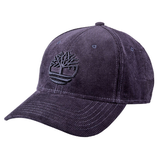 Men Timberland Corduroy Tree Logo Baseball Cap A17XR401
