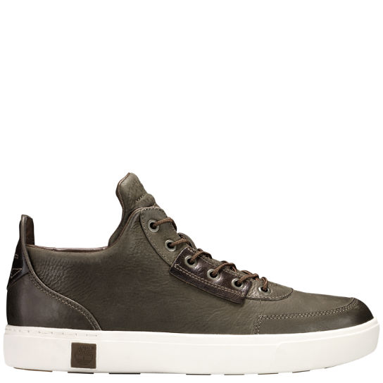 Men Timberland Amherst High-Top Chukka Shoes A1ILS901