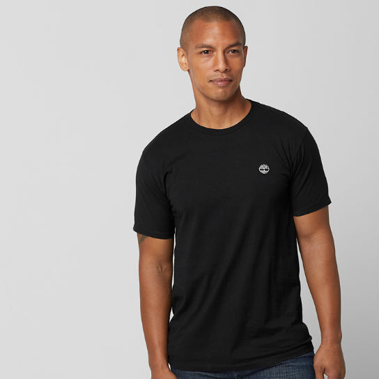 Men Timberland Classic Embroidered Logo T-Shirt TT003001