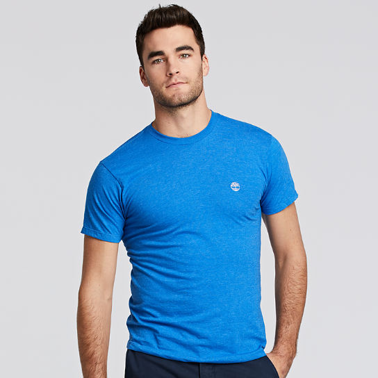 Men Timberland Classic Heathered Logo T-Shirt TT003430