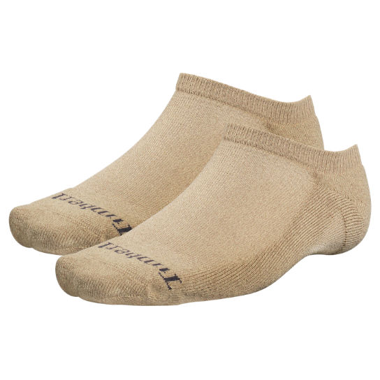 Men Timberland CoolMax® Polyester No-Show Socks (2-Pack) TH406250