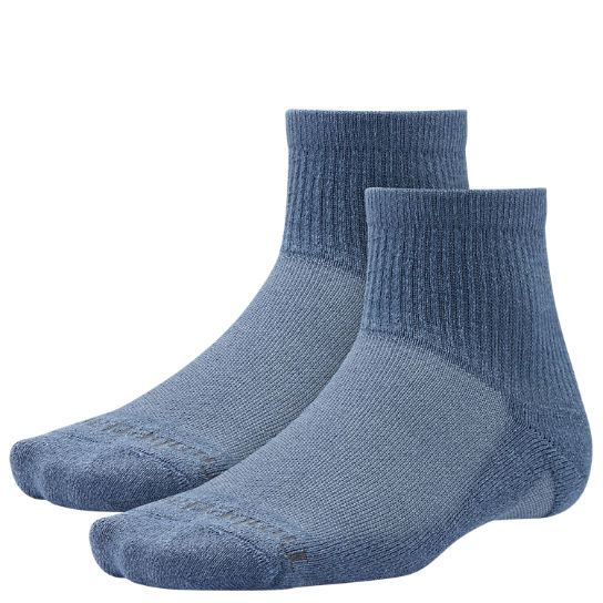 Men Timberland CoolMax® Polyester Quarter Socks (2-Pack) TH405410