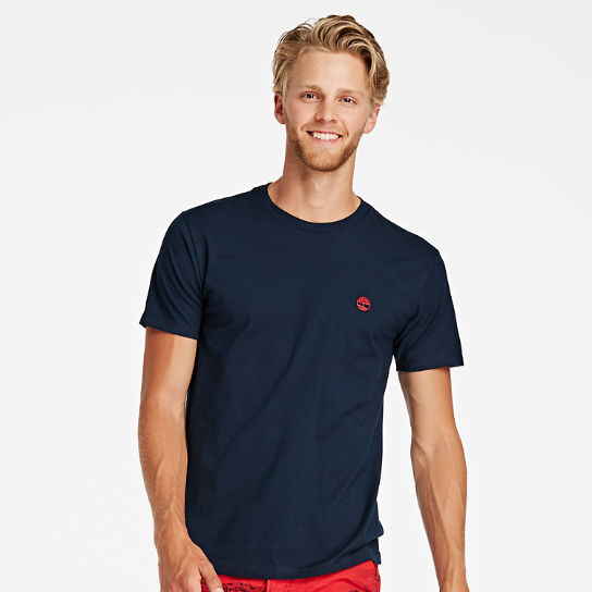 Men Timberland Classic Embroidered Logo T-Shirt TT003434