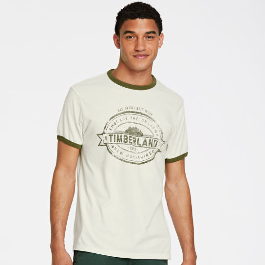 Men Timberland Embrace the Unknown Ringer T-Shirt A1Q1M130