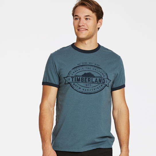 Men Timberland Embrace the Unknown Ringer T-Shirt A1Q1M420
