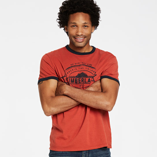 Men Timberland Embrace the Unknown Ringer T-Shirt A1Q1M646