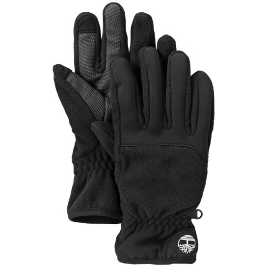 Men Timberland Fleece Touchscreen Gloves GL244001