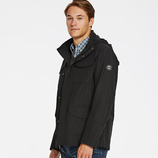 Men Timberland Ludlow Mountain M65 Waterproof Jacket A1PSR001