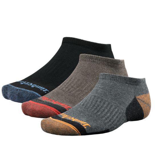 Men Timberland No-Show Socks (3-Pack) A1E43001