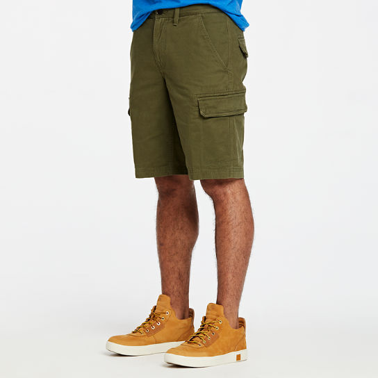 Men Timberland Tarleton Lake Twill Cargo Short A1U4V300