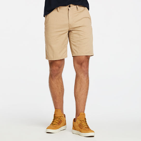 Men Timberland Tarleton Lake Twill Chino Short A1U3X918