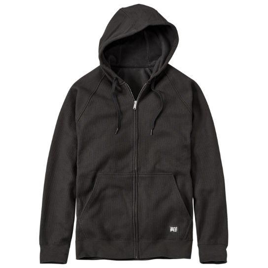 Men Timberland PRO® Downdraft Full-Zip Thermal Hoodie A12C7015