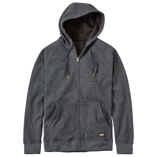 Men Timberland PRO® Downdraft Full-Zip Thermal Hoodie A12C7010