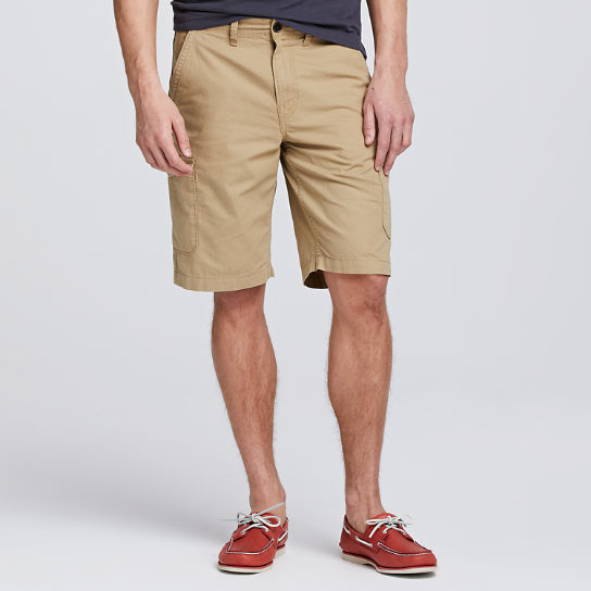 Men Timberland Webster Lake Ripstop Cargo Short A1U3M918