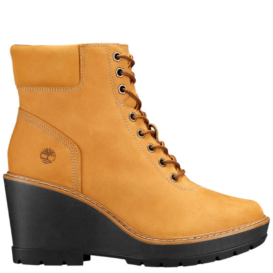 Women Timberland Kellis Wedge Ankle Boots A1KDQ231