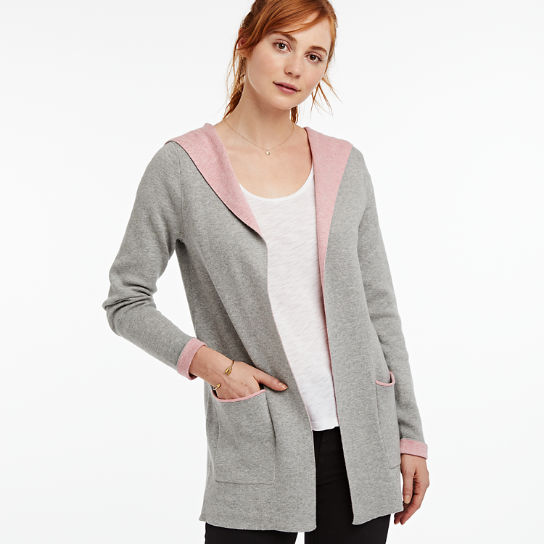 Women Timberland Pine Point River Slim Fit Cardigan Sweater A1PDO052