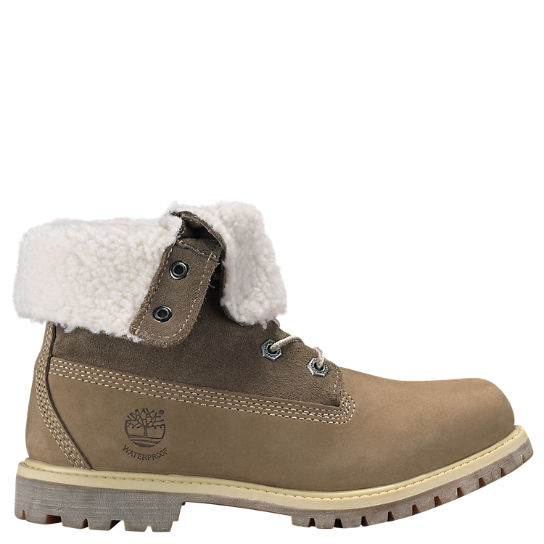Women Timberland Authentics Waterproof Fold-Down Boots 8330R236