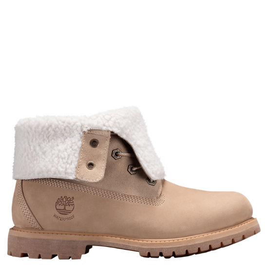 Women Timberland Authentics Waterproof Fold-Down Boots 8355B148